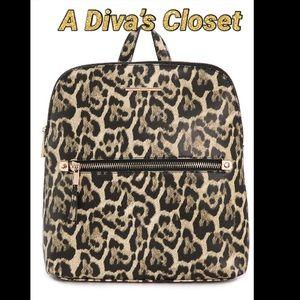 Aldo Leopard Backpack